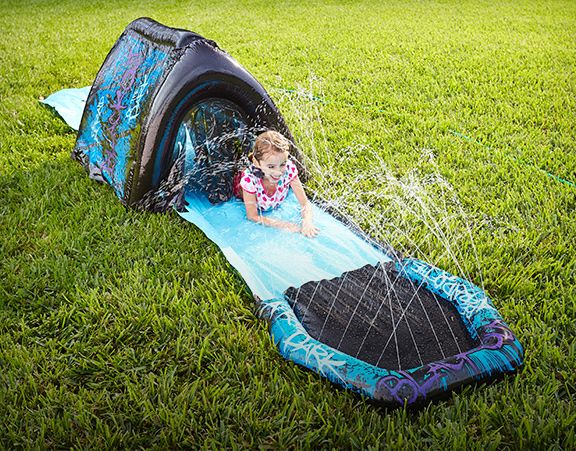 Banzai Blackout Water Slide, 16-ft