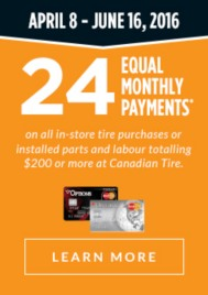 24 Equally Monthly Payments Financing