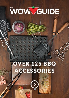 OVER 125 BBQ ACCESSORIES