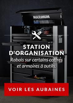 RABAIS sur certains coffres et armoires à outils