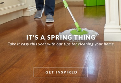 Take it easy this year with our tips for cleaning your home