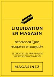 Liquidation en magasin