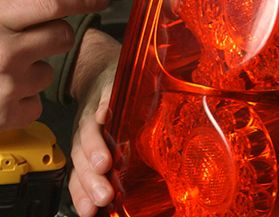 How to replace or repair tail lights