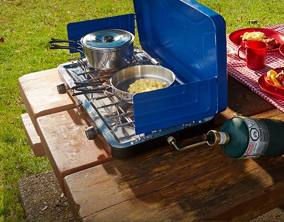 Outbound Deluxe Double Burner Camp Stove