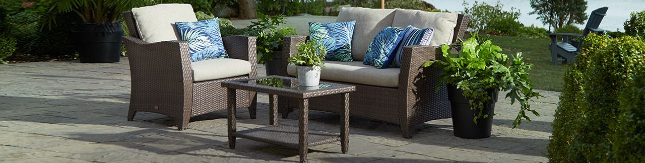 Patio furniture d cor accessories canadian tire for Liquida meuble st romuald