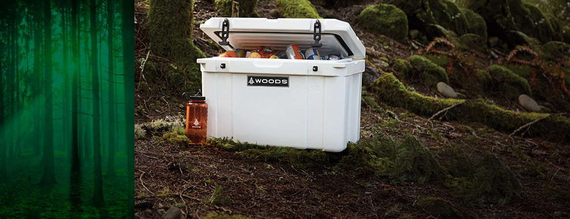 WOODS ROTO MOLDED COOLER, 50L