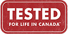 Premier has been Tested for Life in Canada.