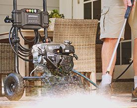 Shop all Simoniz pressure washers, parts and accessories