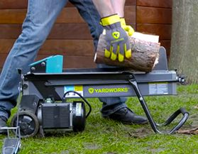Browse all Yardworks log splitters, chippers and shreders.