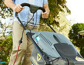 See our assortment of Yardworks electric lawn mowers