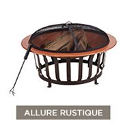 CANVAS Vista Outdoor Fire Bowl