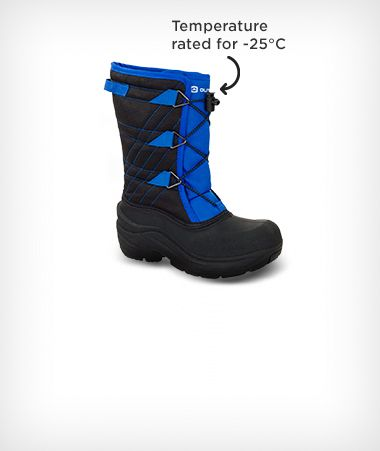 Outbound Boys Bungee Boots
