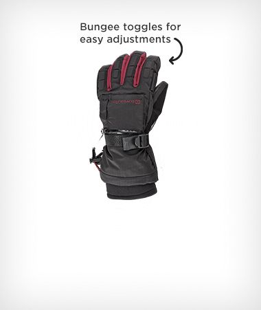 Outbound Performance Women's Ski Gloves