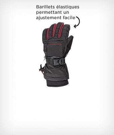 Gants de ski Outbound Performance, femmes