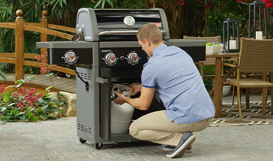 Browse our popular propane BBQs