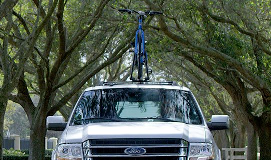 Roof bike racks are made for one bike.