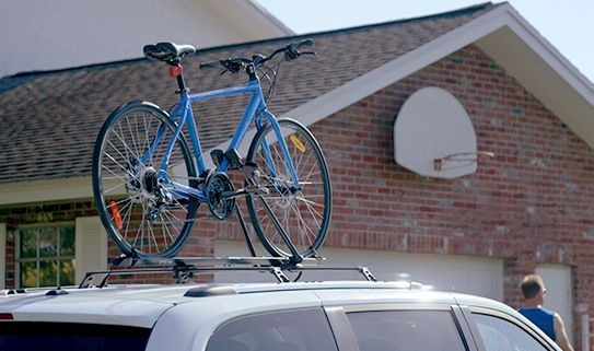 Bike racks with locks help keep your bikes safe from theft.