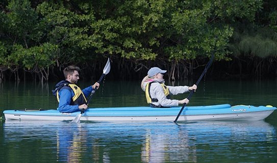 Discover our tandem kayaks, perfect for sharing