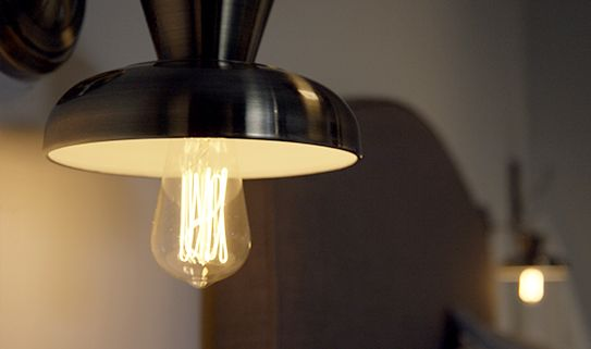 Discover our vintage-looking Edison light bulbs