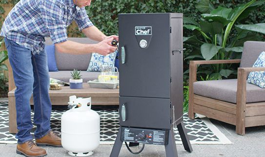 Discover our assortment of propane smokers
