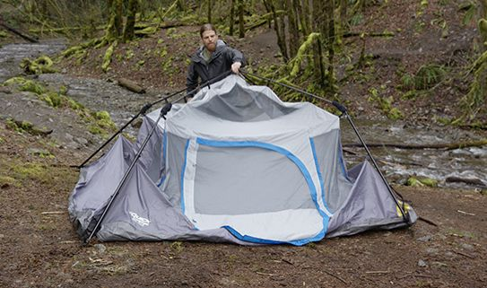 Camping gets easy with one of our instant tents