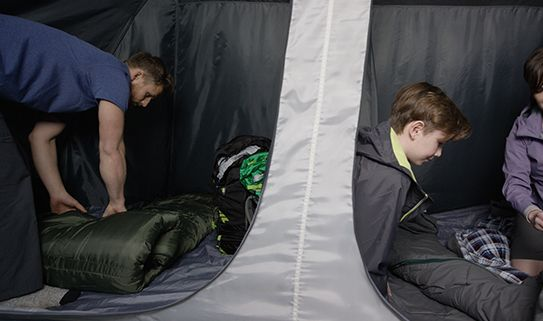 Camping tents with room dividers give you privacy