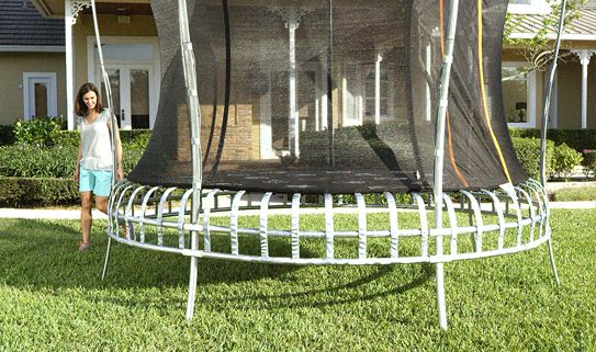 Choose a trampoline that will fit your space