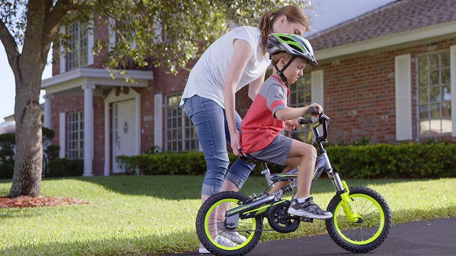 Have your kid take the bike for a test ride