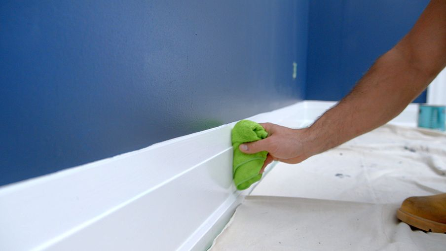 Start by cleaning your trim thoroughly