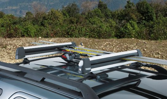 Find a roof rack with crossbars that fits your vehicle
