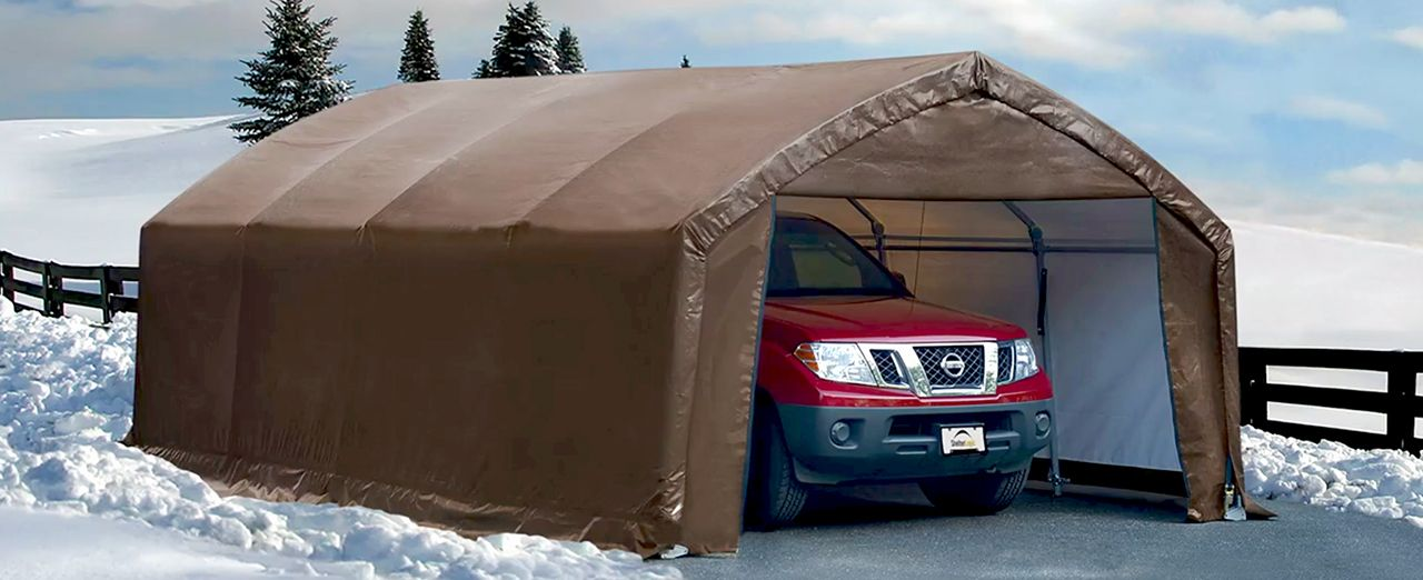 Portable Car Garages For Winter : How to choose an auto shelter canadian tire