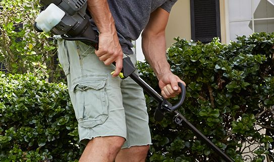 A grass trimmer should be easy and comfortable to hold