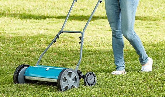 See our assortment of electric manual reel lawn mowers