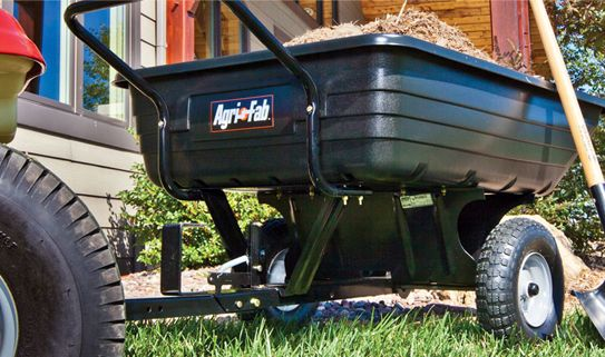 Skip the heavy lifting with one of our handy dump carts