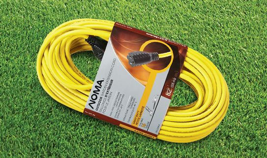 Choose the right extension cord for your electric hedge trimmer
