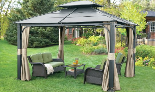 how to choose a gazebo or awning canadian tire