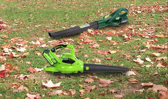 Explore our assortment of cordless leaf blowers