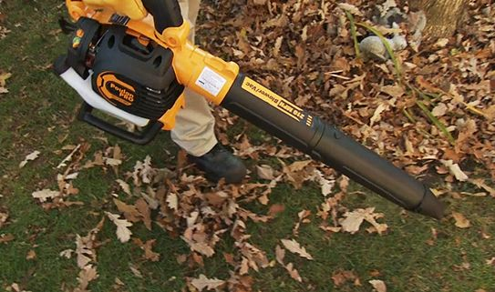 Discover our versatile gas leaf blowers.
