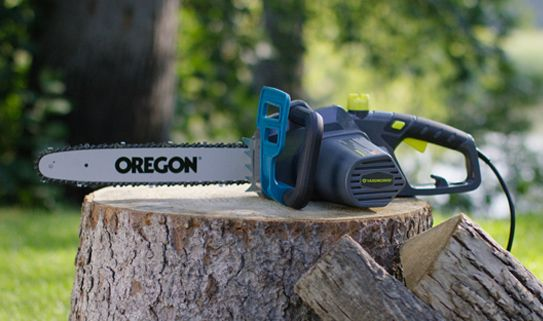 Discover our electric chainsaws