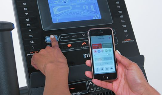 Some ellipticals feature built-in Wi-Fi