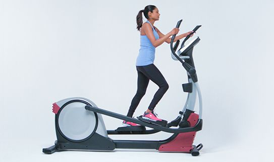 Find out how ellipticals offer a full-body workout