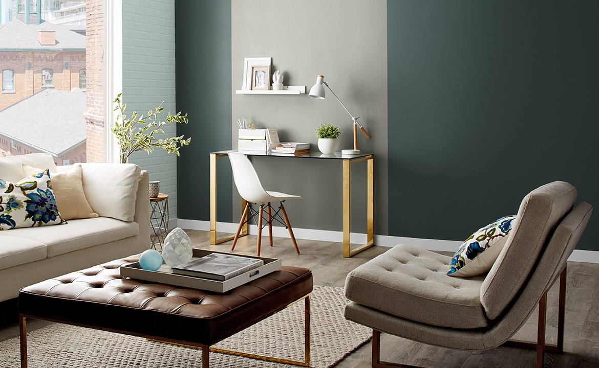 Define a space with Premier paint.