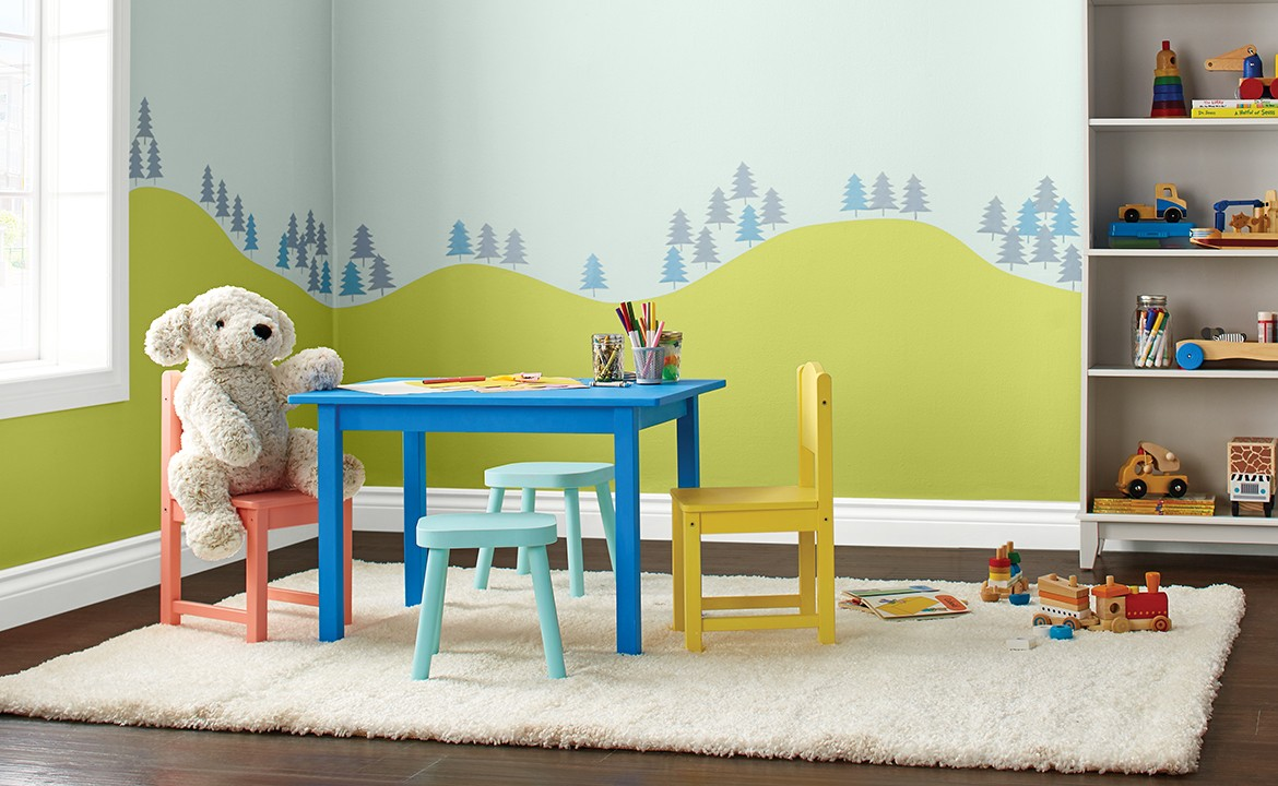 Paint children's furniture with Premier.