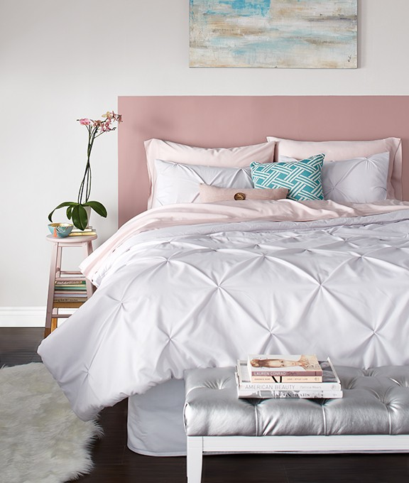 Paint a headboard on your wall with Premier.