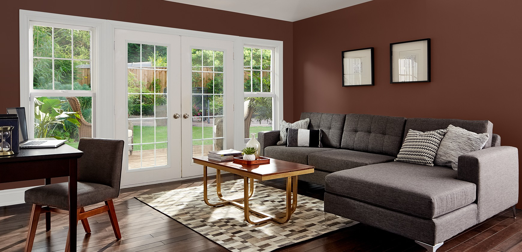 Create warm family rooms with Premier paint.