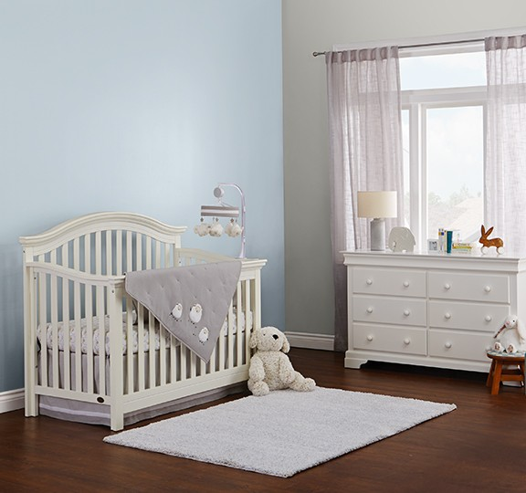Create a serene nursery with Premier paint.