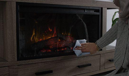 Home Hardware Foyer électrique : Comment choisir un foyer électrique canadian tire