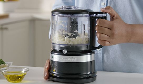 Small food processors have a capacity of 5 cups or less.