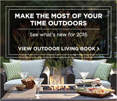 Pick and create your own outdoor room from our Backyard Living Lookbook