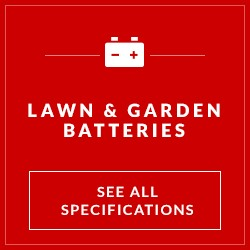 See all lawn and garden batteries